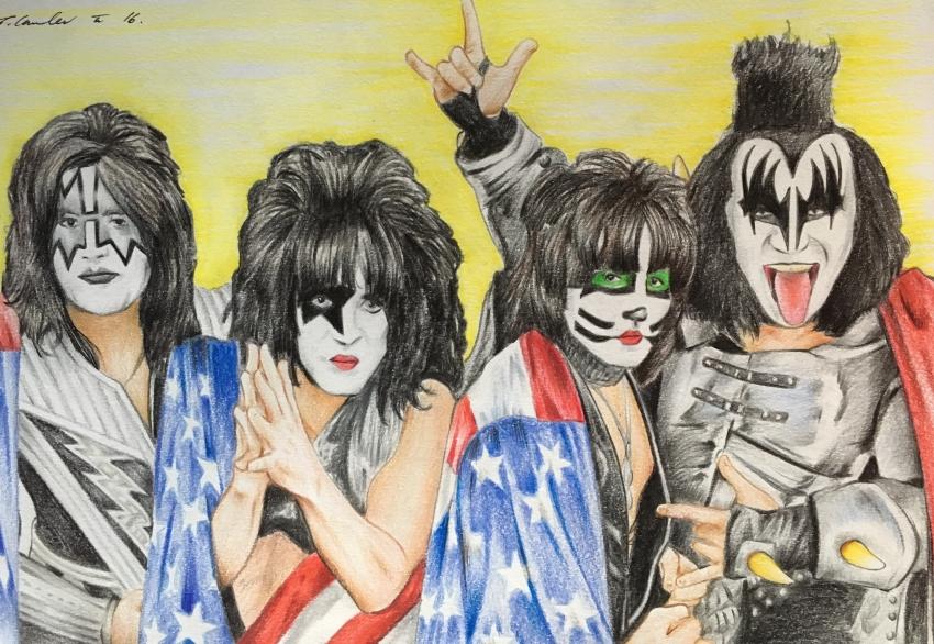 Kiss, Gene Simmons by TraceyLawler